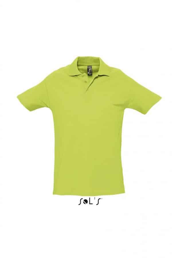 Apple Green SOL'S SPRING II - MEN'S PIQUE POLO SHIRT Galléros pólók