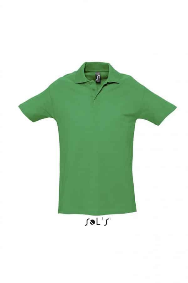 Kelly Green SOL'S SPRING II - MEN'S PIQUE POLO SHIRT Galléros pólók