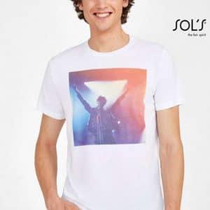 SOL'S SUBLIMA - UNISEX ROUND COLLAR T-SHIRT FOR SUBLIMATION Pólók/T-Shirt