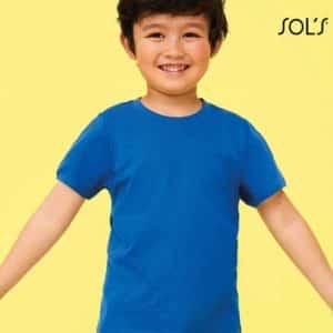 SOL'S REGENT KIDS - ROUND NECK T-SHIRT Gyermek ruházat