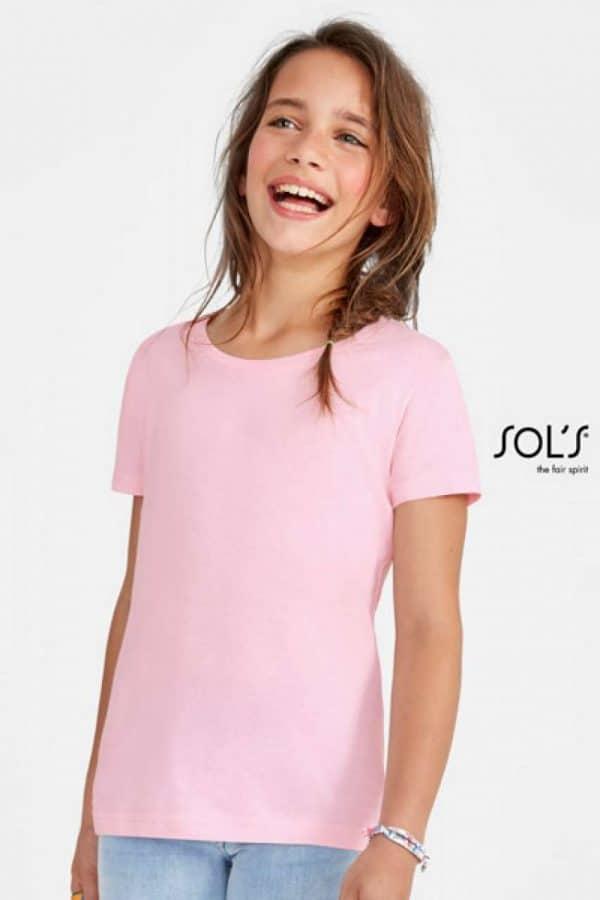 SOL'S CHERRY - GIRLS' T-SHIRT Gyermek ruházat