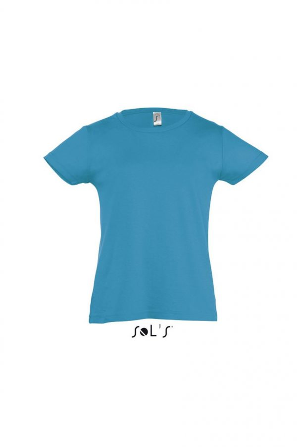 Aqua SOL'S CHERRY - GIRLS' T-SHIRT Gyermek ruházat