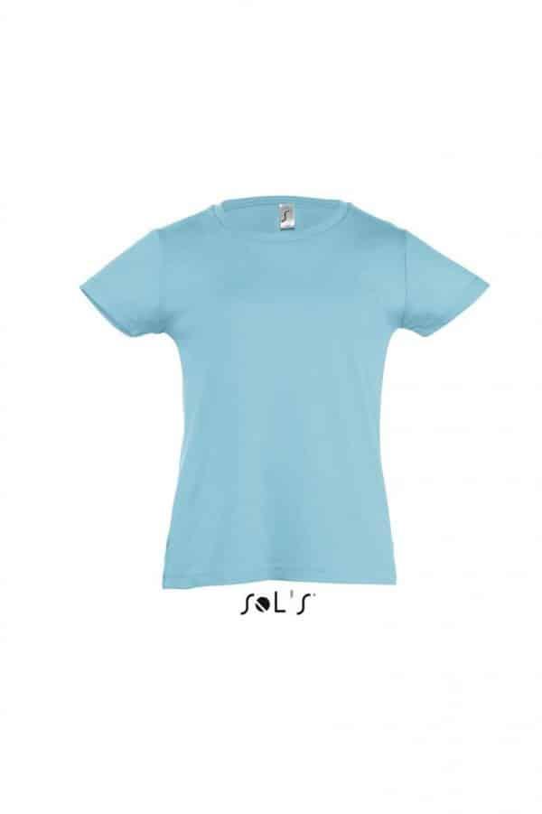 Atoll Blue SOL'S CHERRY - GIRLS' T-SHIRT Gyermek ruházat