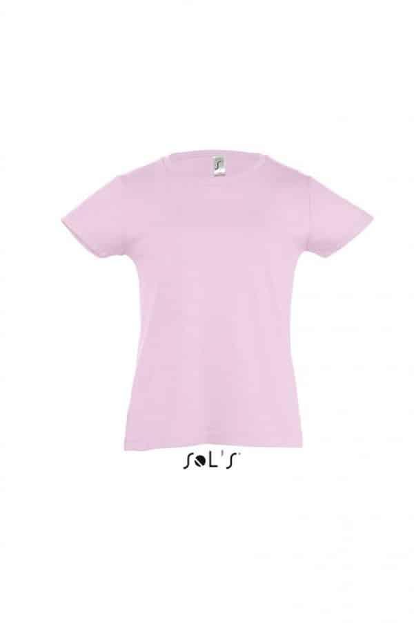 Medium Pink SOL'S CHERRY - GIRLS' T-SHIRT Gyermek ruházat