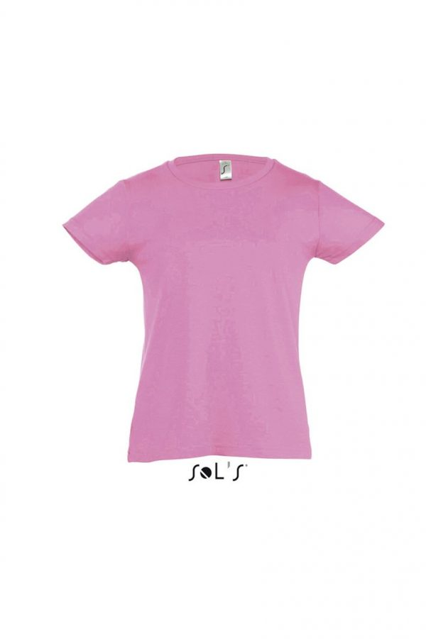Orchid Pink SOL'S CHERRY - GIRLS' T-SHIRT Gyermek ruházat
