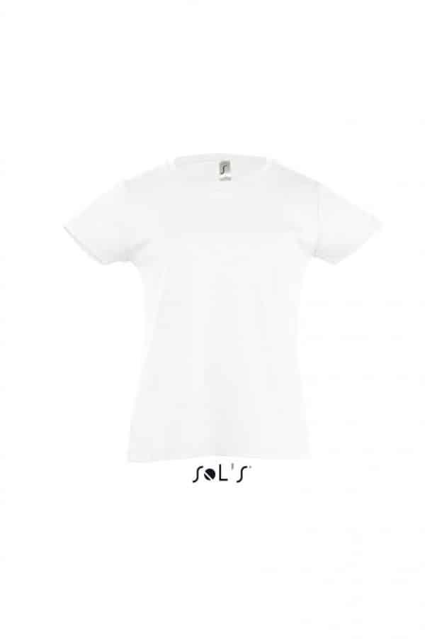 White SOL'S CHERRY - GIRLS' T-SHIRT Gyermek ruházat