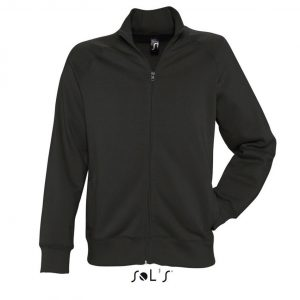 Black SOL'S SUNDAE - MEN'S ZIPPED JACKET Pulóverek