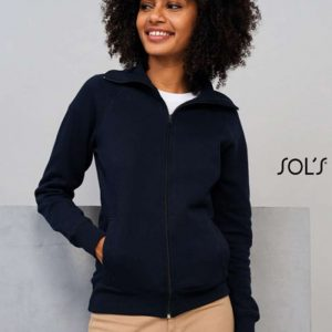 SOL'S SODA - WOMEN'S ZIPPED JACKET Pulóverek