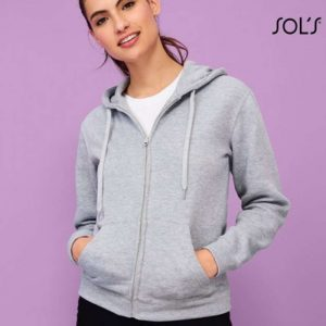 SOL'S SEVEN WOMEN - JACKET WITH LINED HOOD Pulóverek