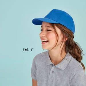 SOL'S SUNNY KIDS - FIVE PANELS CAP Gyermek ruházat