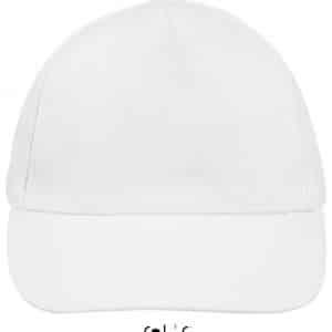 White SOL'S BUZZ - FIVE PANEL CAP Sapkák