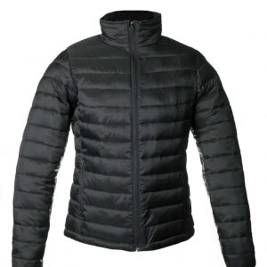 Black UB Classics LADIES' PADDED URBAN JACKET Kabátok